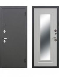Дверь Царское зеркало муар Белый ясень