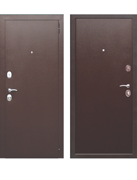 Дверь Гарда мини металл/металл