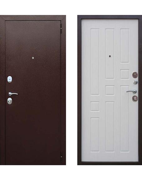 Дверь Гарда 8 мм Белый ясень