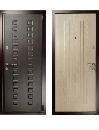 Дверь Гранит М2 Люкс Беленый дуб