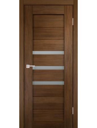Дверь Темпо 15 велюр шоко со стеклом