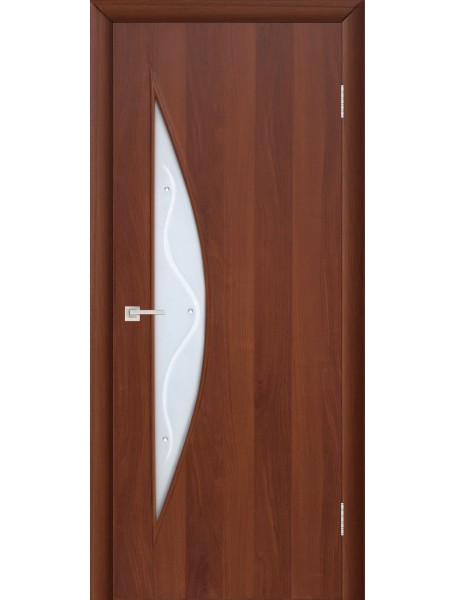 Дверь 4с5ф Итальянский орех