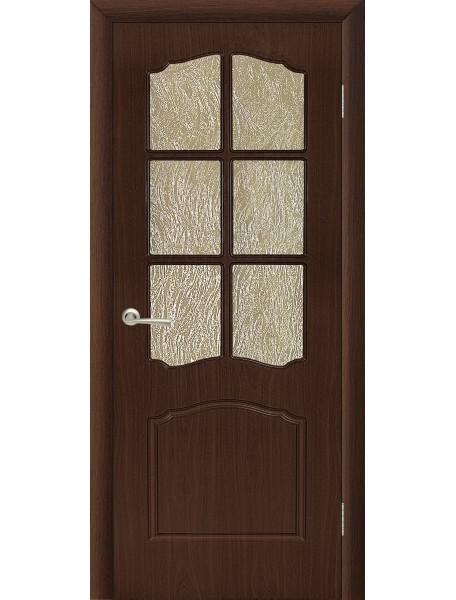 Дверь Альфа ПО Венге