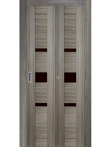 Дверь Джаз Складная Грей