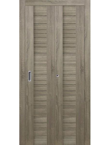 Дверь Форум ПГ Складная Грей
