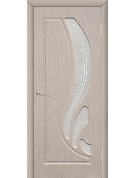 Дверь Лотос ПО Беленый дуб
