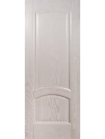 Дверь Александрит ПГ Эмаль белая полузалитая