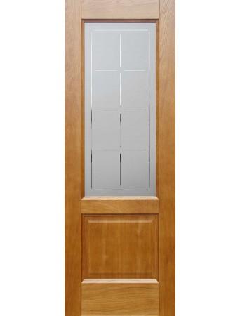 Дверь Бристоль Дуб натуральный ПО