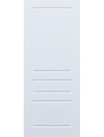 Дверь Честер ПГ Белая эмаль