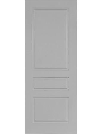 Дверь Честер ПГ Серая эмаль
