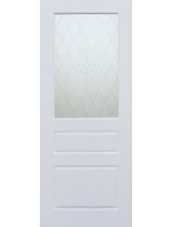 Дверь Честер ПО Белая эмаль