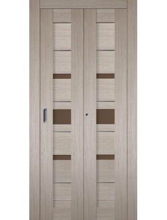 Дверь Джаз Складная Капучино