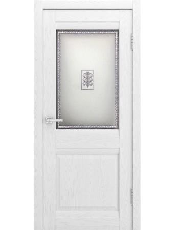 Дверь Шарм Софт Тач Ясень белый ПО
