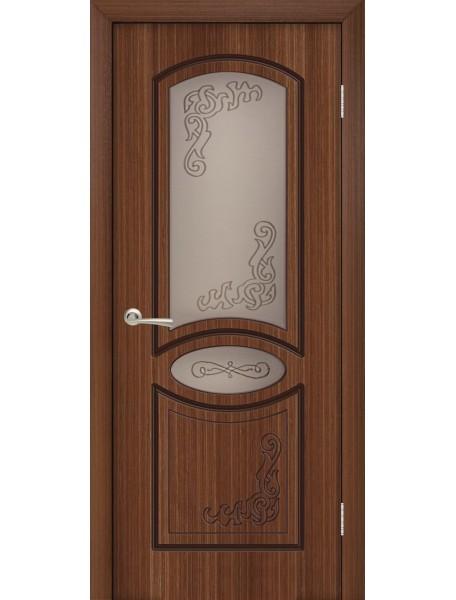 Дверь Муза Орех ПО
