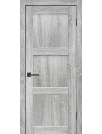 Дверь НЕО 5 ПГ Лайт сонома