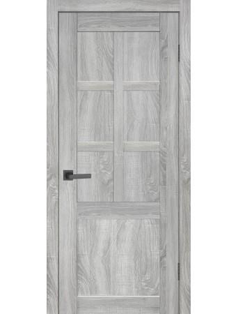 Дверь НЕО 7 ПГ Лайт сонома