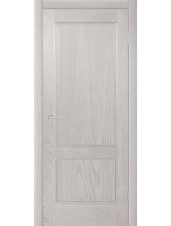 Дверь Бристоль Эмаль белая полузалитая ПГ