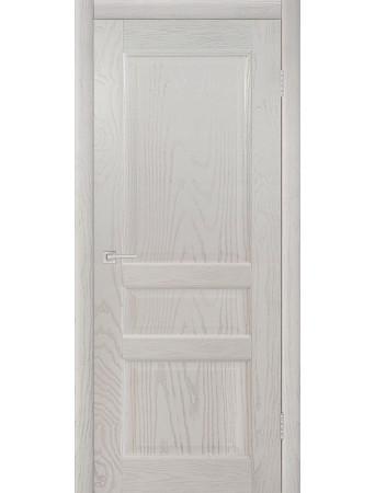 Дверь Честер Эмаль белая полузалитая ПГ