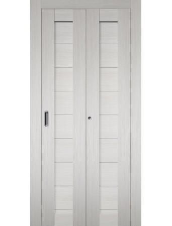 Дверь Самба Складная Беленый дуб