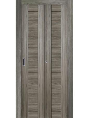 Дверь Самба Складная Грей