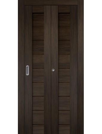 Дверь Самба Складная Венге