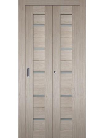 Дверь Танго Складная Капучино