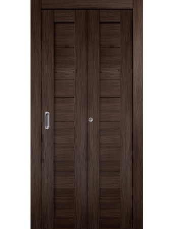 Дверь Темпо 10 Складная Венге