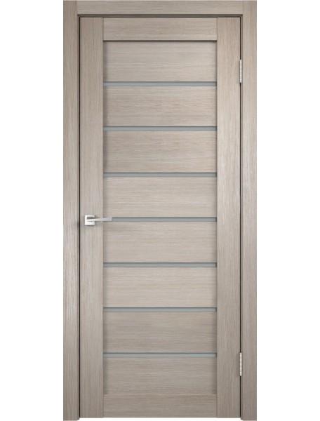 Дверь Темпо 11 велюр капучино со стеклом
