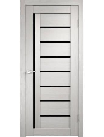 Дверь Темпо 13 велюр белый со стеклом