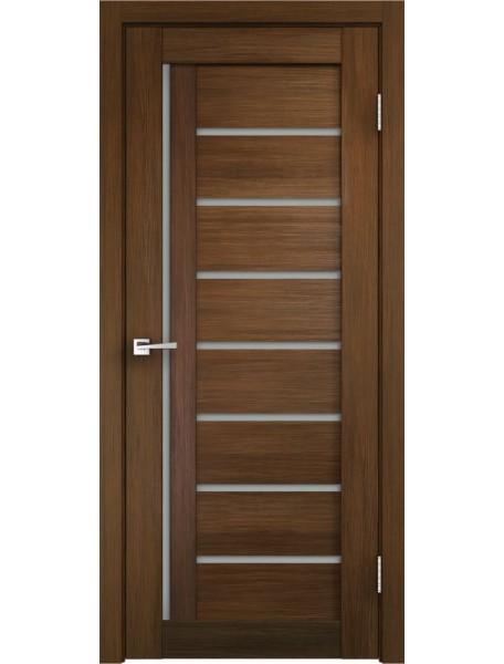 Дверь Темпо 13 велюр шоко со стеклом