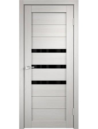 Дверь Темпо 15 велюр белый со стеклом