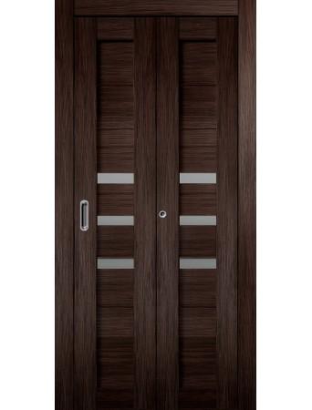 Дверь Темпо 15 Складная Венге