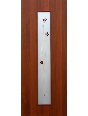 Дверь Тиффани-2 Итальянский орех