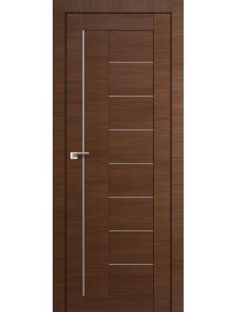 Дверь Profildoors 17Х AL Малага Черри Кроскут