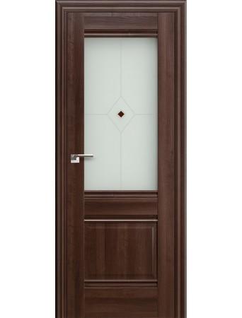 Дверь Profildoors 2Х Орех Сиена