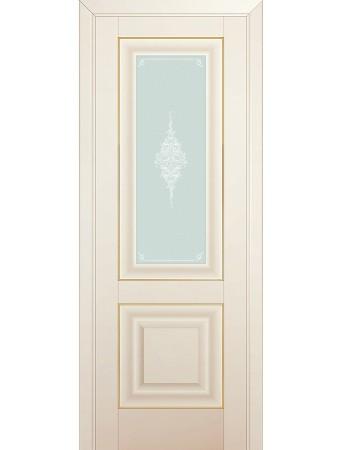 Дверь Profildoors 28U Магнолия Сатинат