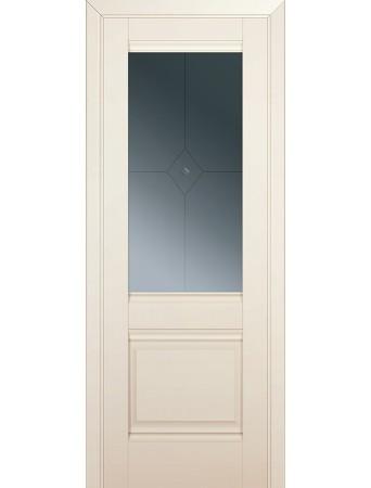 Дверь Profildoors 2U Магнолия Сатинат