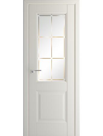 Дверь Profildoors 90U Магнолия Сатинат