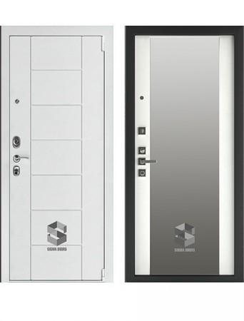 Дверь Sigma White Зеркало MAXI