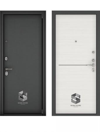 Дверь Sigma Securemme белый ясень