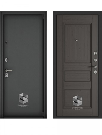 Дверь Sigma Securemme венге премиум