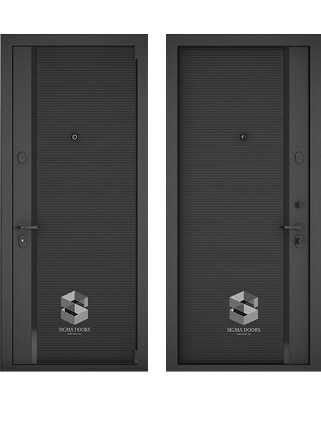 Входная дверь Sigma Black Edition