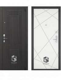 Дверь Sigma Гардиан Техно белый софт