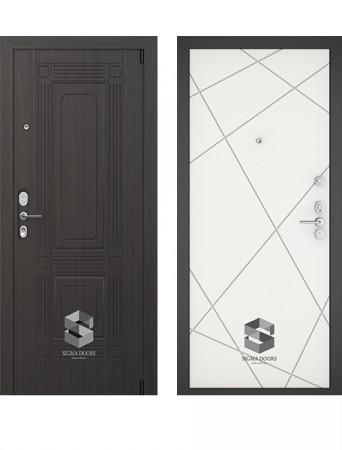 Дверь Sigma Grand Техно белый софт