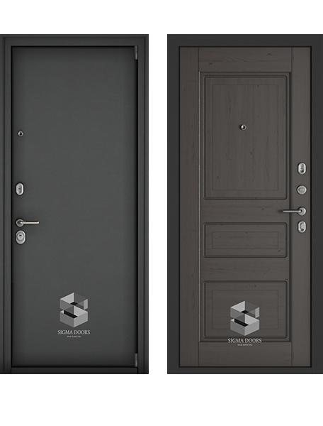Дверь Sigma Комфорт Венге премиум
