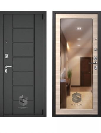 Входная дверь Sigma Люкс Зеркало