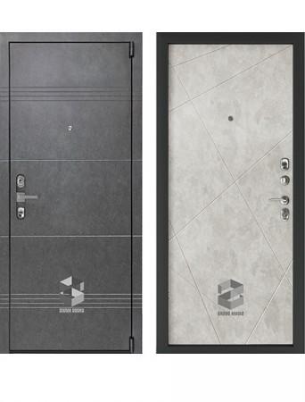 Дверь Sigma Mottura Grafit Бетон лофт грей