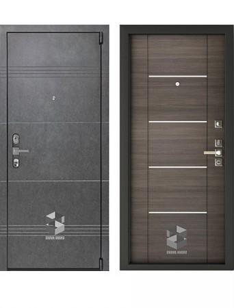 Дверь Sigma Mottura Grafit Тоскано молдинг