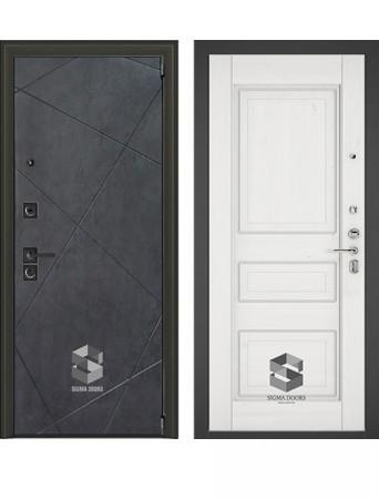 Дверь Sigma Next New Белый софт