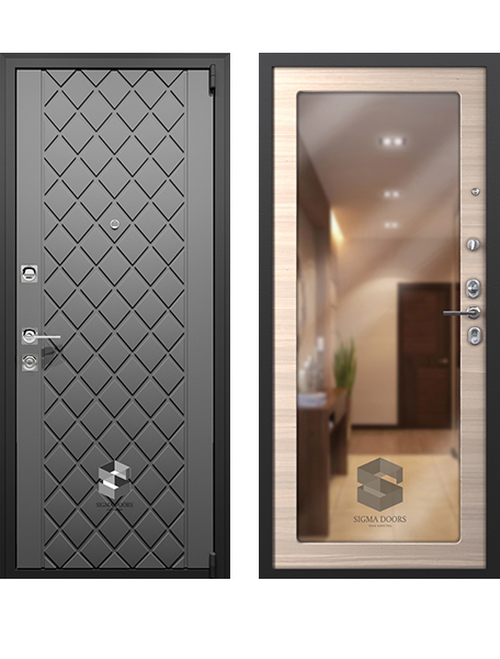 Дверь Sigma Титан Зеркало
